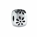 Moress Silver Flower Locker Bead