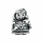Moress Silver Girl with Doll Bead