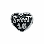 Moress Silver Sweet 16 Bead