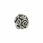 Moress Silver Vines Spacer Bead