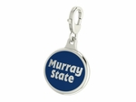 Murray State Racers Enamel Lobster Claw Charm