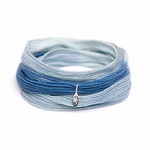 Novo Summer Sea Silk Wrap Bracelet