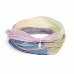 Novo Twilight Silk Wrap Bracelet