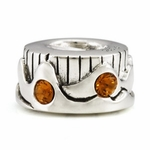 Ohm Silver Earth Elements Bead