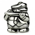 Ohm Silver Flute Marching Band Bead