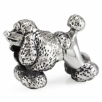 Ohm Silver Poodle Bead