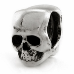 Ohm Silver Punk and Rock n Roll Beads
