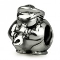 Ohm Silver Saxophone Marching Band Bead