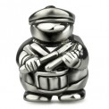 Ohm Silver Snare Drum Marching Band Bead