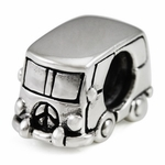 Ohm Silver Travel Beads