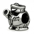 Ohm Silver Trumpet Marching Band Bead