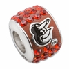 Premier Baltimore Orioles MLB Crystal Bead