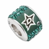 Premier Dallas Stars NHL Crystal Bead
