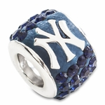 Premier New York Yankees MLB Crystal Bead