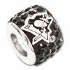 Premier Pittsburgh Penguins NHL Crystal Bead