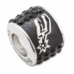 Premier San Antonio Spurs NBA Crystal Bead