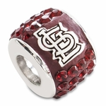 Premier St Louis Cardinals MLB Crystal Bead