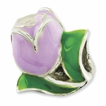 Reflections SimStars Kids Enamel Tulip Bead