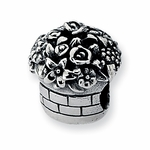 Reflections SimStars Silver Flower Bouquet Bead