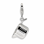 Silver Measuring Cup Charm