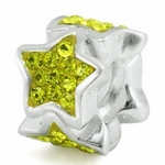 Silver Ohm The Star Bead