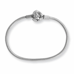 SimStars Kids Reflections Silver Clasp Polished Bracelet