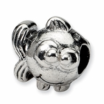 SimStars Kids Reflections Silver Fish Bead
