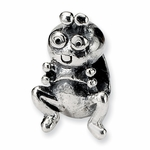 SimStars Kids Reflections Silver Grasshopper Bead