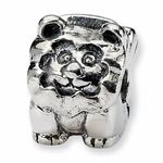 SimStars Kids Reflections Silver Lion Clip Bead