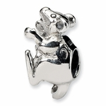 SimStars Kids Reflections Silver Mouse Bead