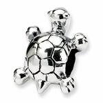 SimStars Kids Reflections Silver Turtle Bead
