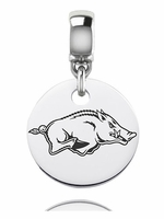 Southern University Jaguars Silver Round Dangle Bead