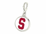 Stanford Cardinals Enamel Lobster Claw Charm