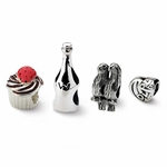 Sterling Silver Reflections Celebration & Anniversary Boxed Bead Set