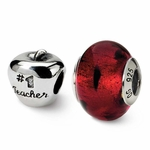 Sterling Silver Reflections Teacher Boxed Bead Set