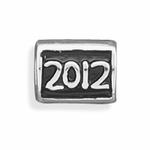 Sterling Silver Story 2012 Bead