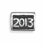 Sterling Silver Story 2013 Bead