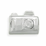 Sterling Silver Story Camera Bead