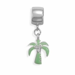 Sterling Silver Story Coconut Tree Bead