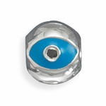 Sterling Silver Story Evil Eye Bead