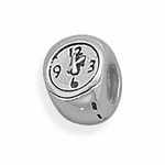 Sterling Silver Story Wristband Watch Bead