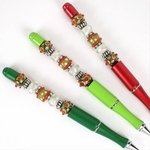 Whimsical Holidays Bead Pen Set