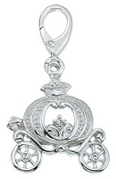 Zable Silver Carriage Bead Charm