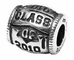 Zable Silver Class of 2010 Bead