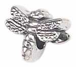 Zable Silver Dragonfly Bead
