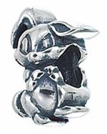 Zable Silver Easter Bunny Bead