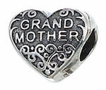 Zable Silver Grandmother Bead