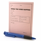 While You Were Napping Message Pad