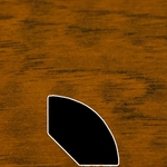 Color 847 Laminate Quarter Round