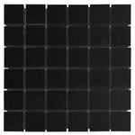 Absolute Black Mosaic Granite Tile